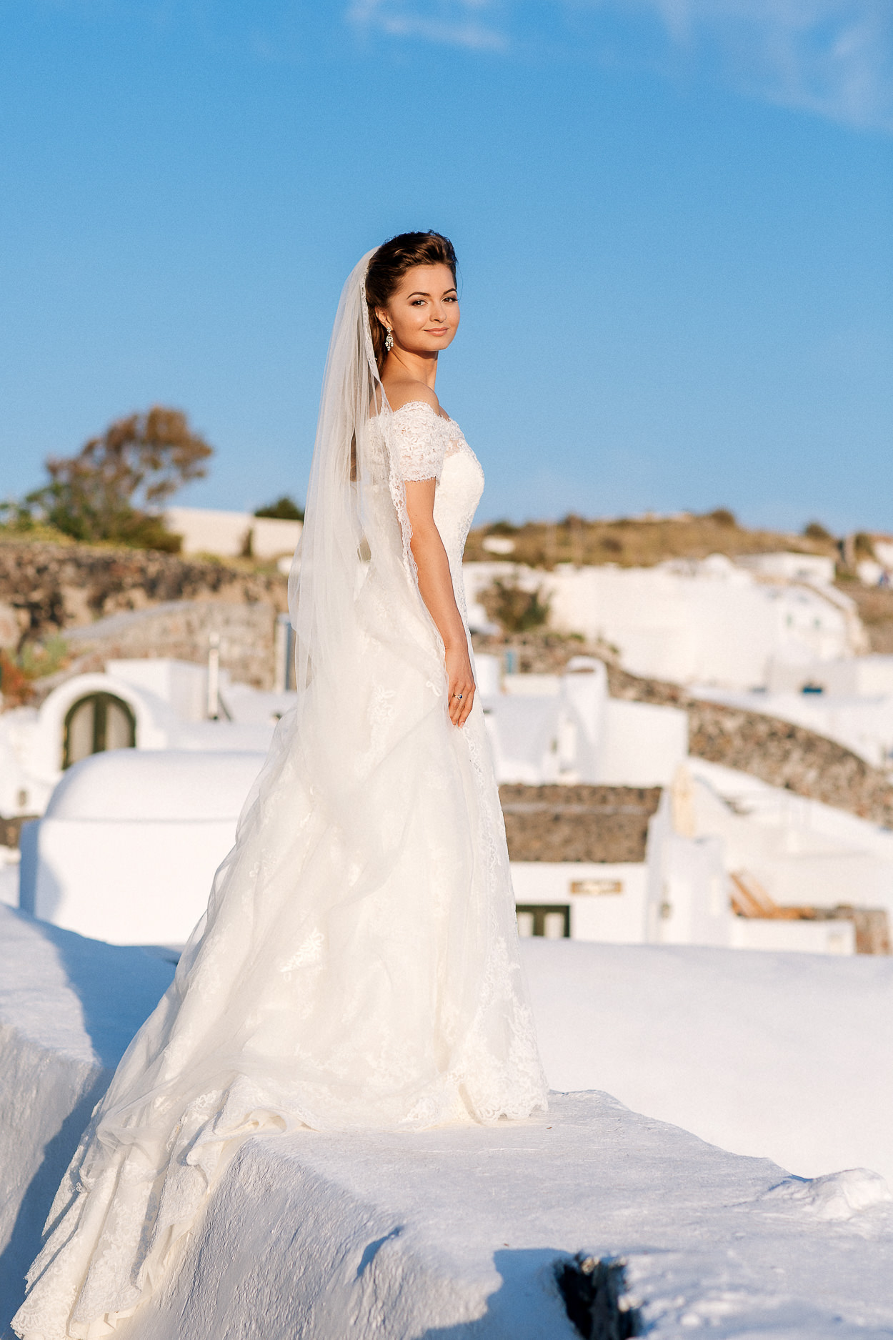 traditional wedding Oia Santorini photos
