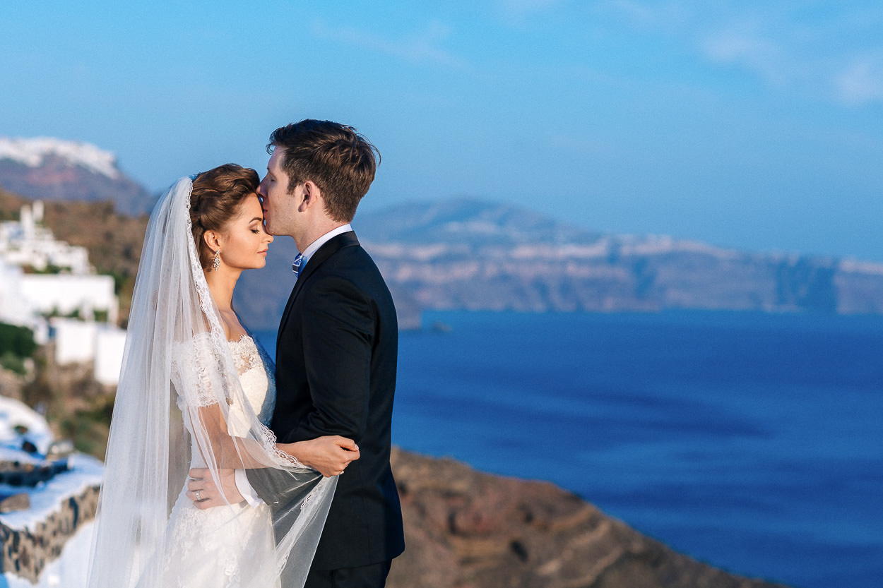 wedding in Santorini Greek island Greece photos