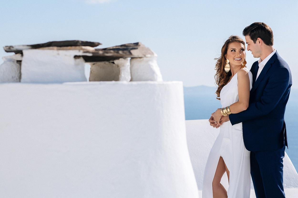 Santorini private photo session