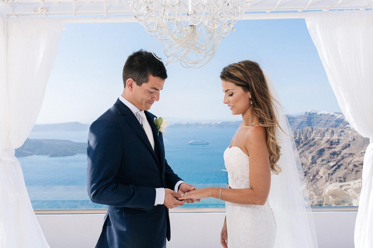 wedding at Santorini Gem