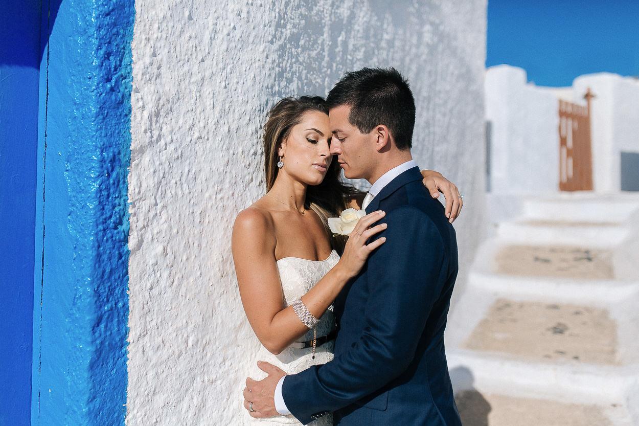 wedding photos Pyrgos Santorini