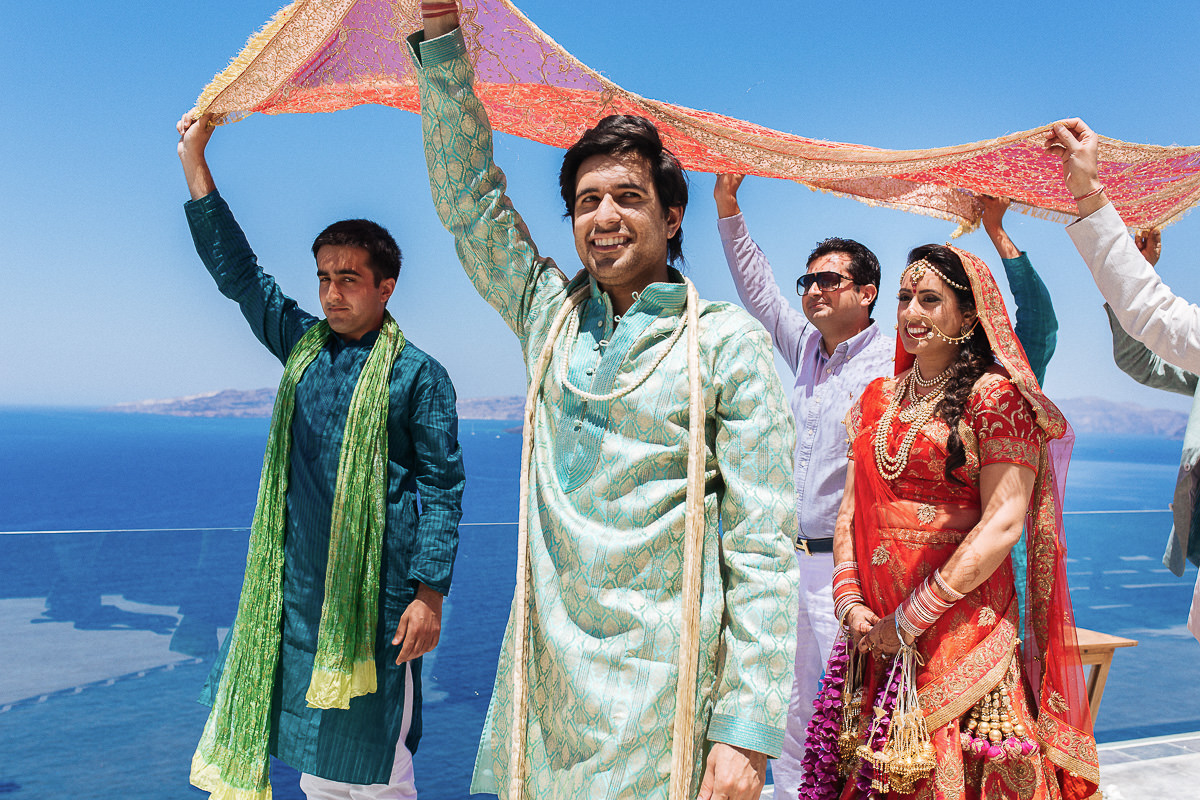 indian wedding ceremony greece