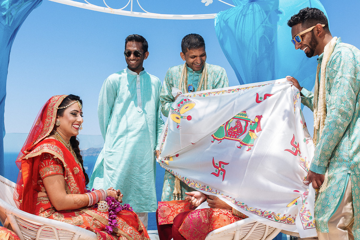indian wedding ceremony in Greece