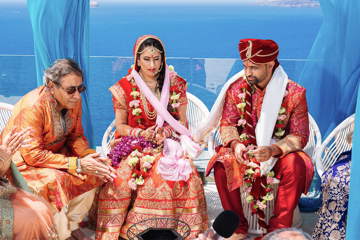 indian wedding in Mykonos