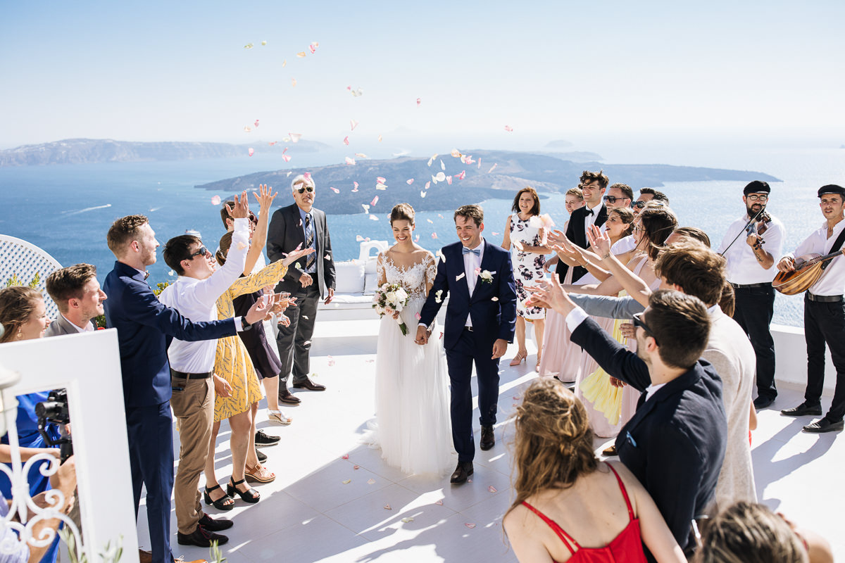 Dana Villas santorini wedding