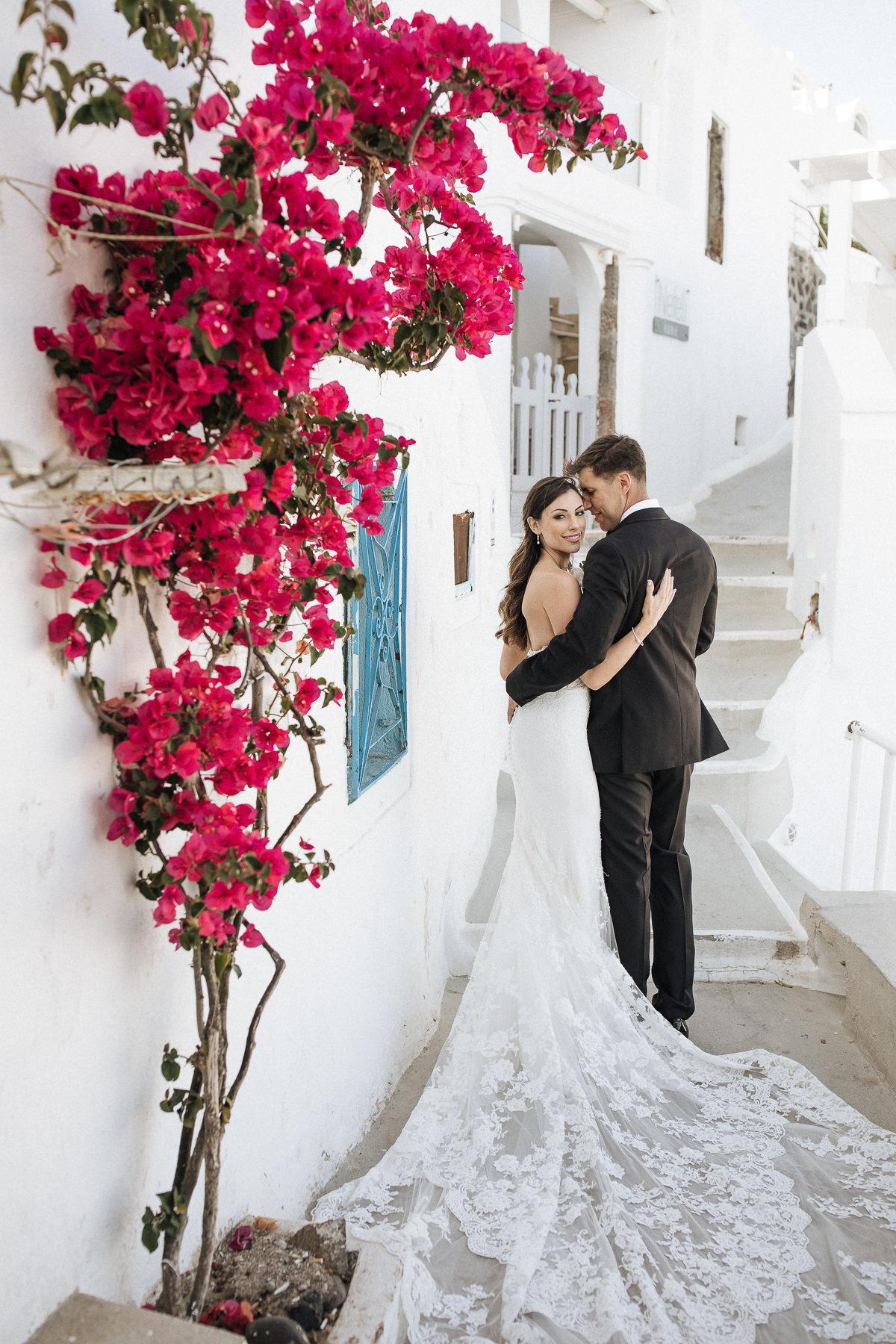 wedding at rocabella santorini