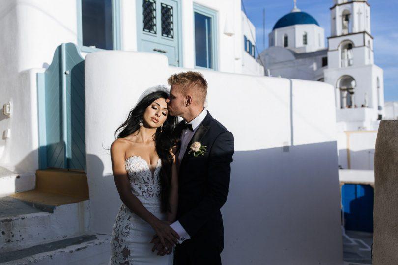 best of santorini elopement photos