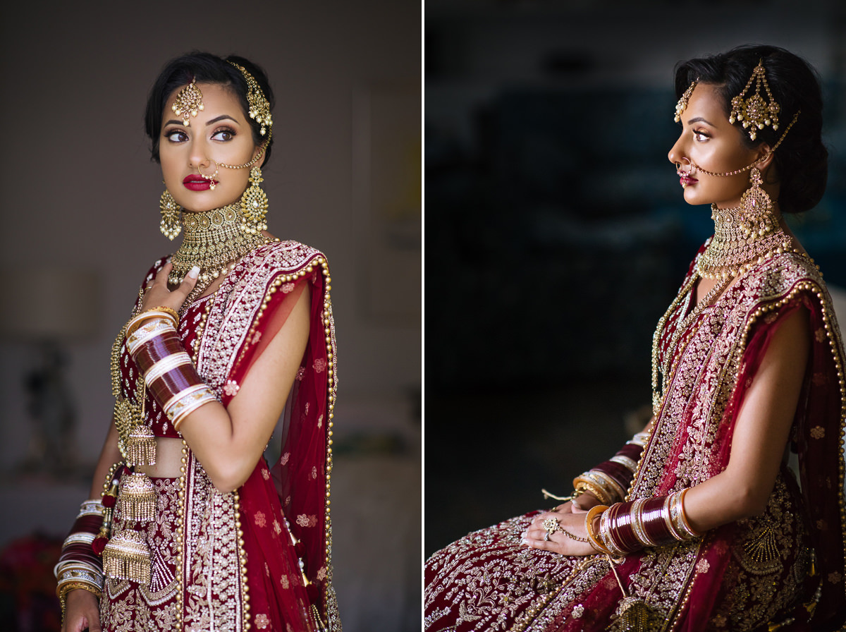 indian bride santorini