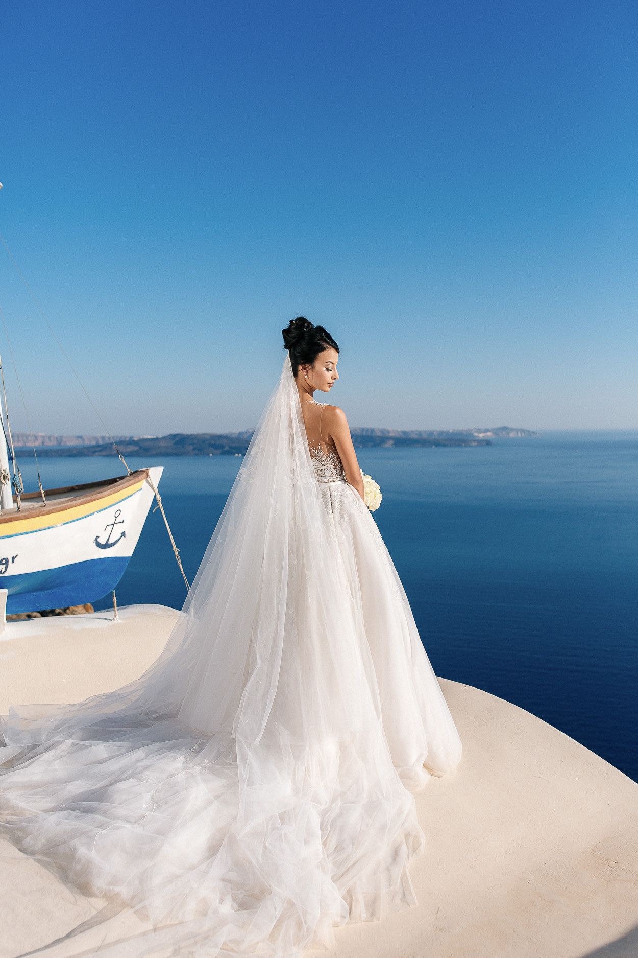 santorini wedding photos oia