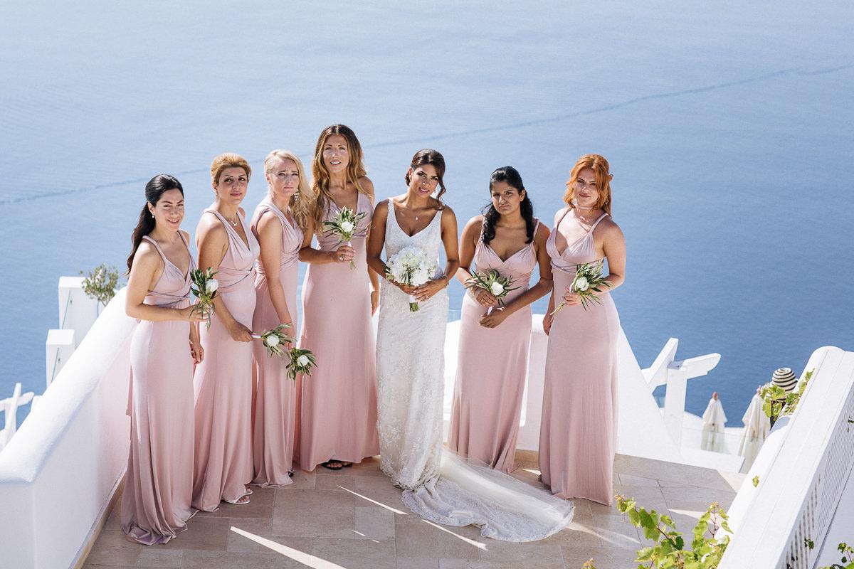 Imerovigli wedding