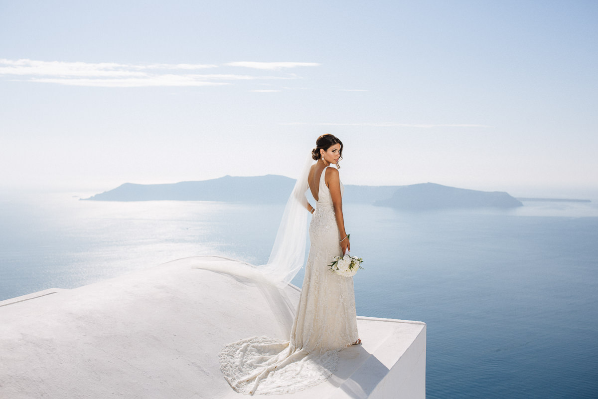 Iranian wedding at la Maltese santorini