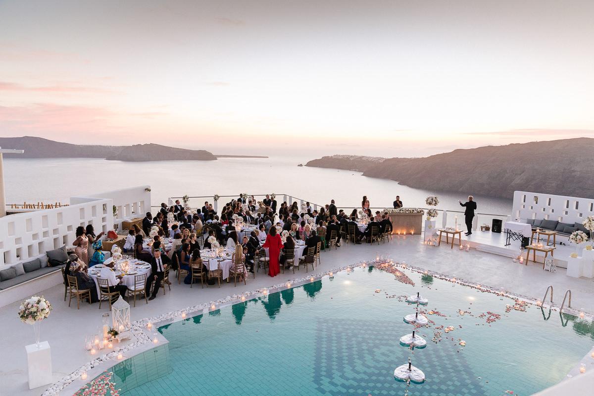 rocabella santorini wedding venues