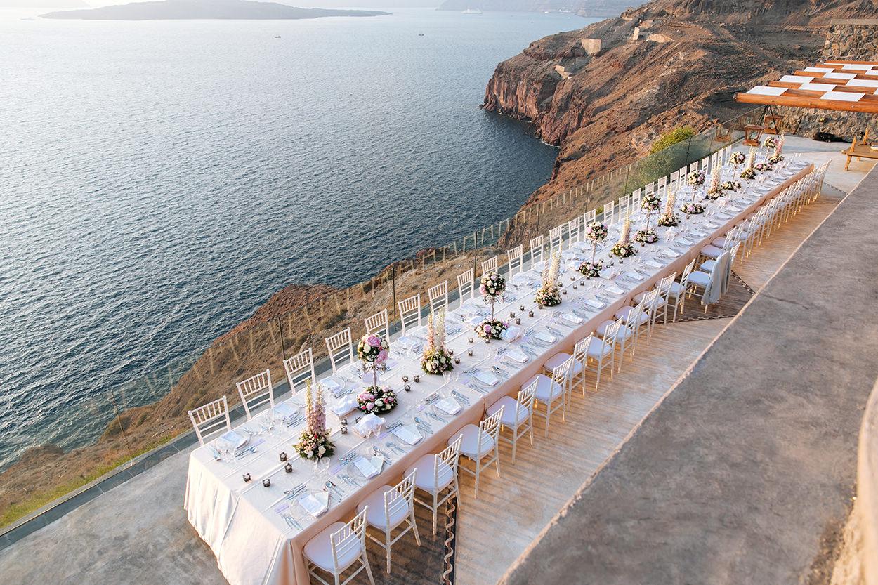 Cavo Ventus Santorini Wedding Venues