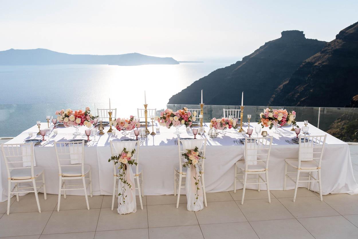 Dana Villas santorini wedding venues