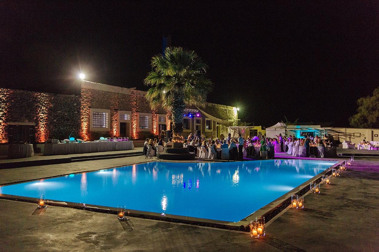 Oceanids santorini wedding venues