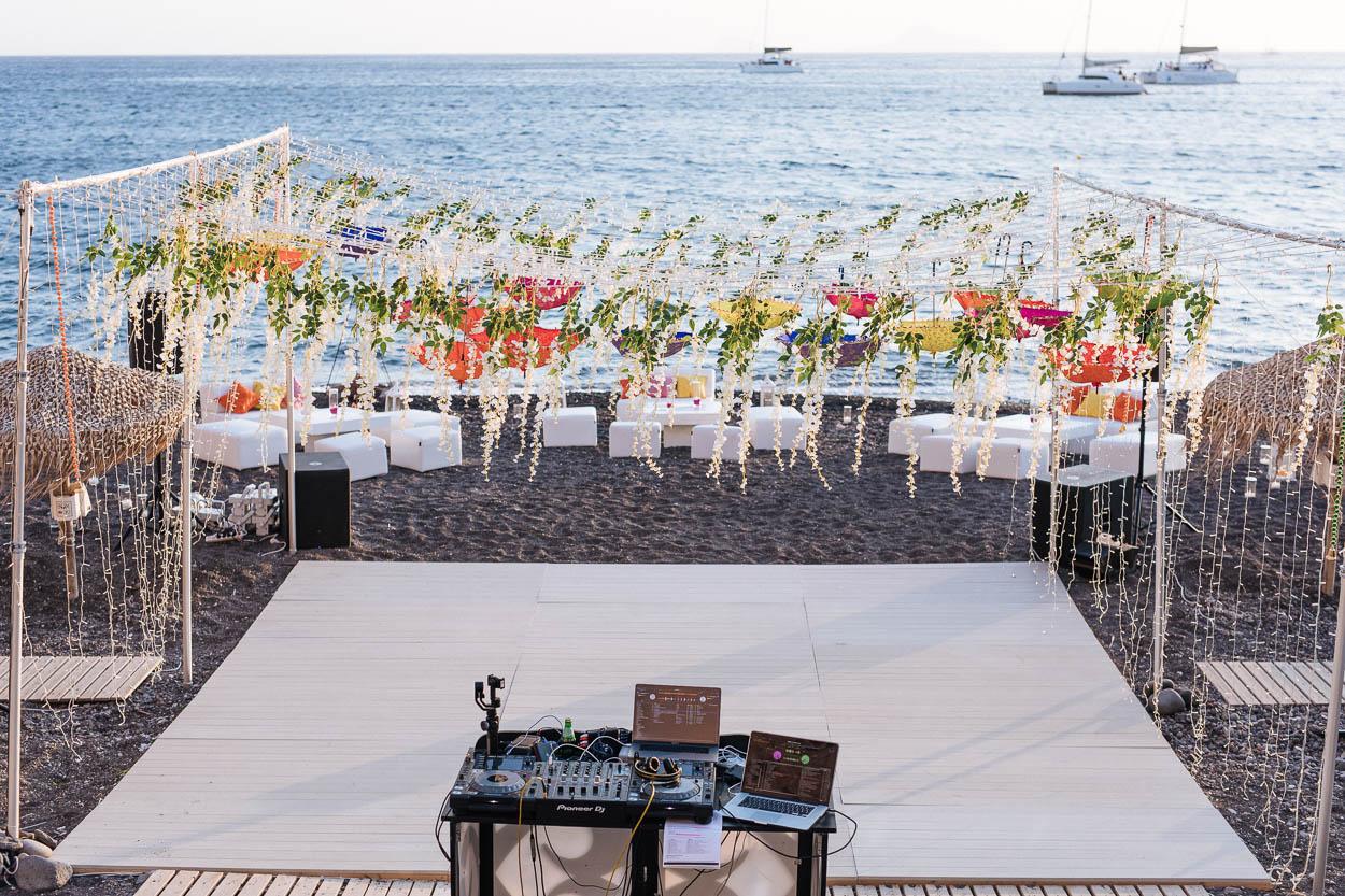 akro santorini wedding venues