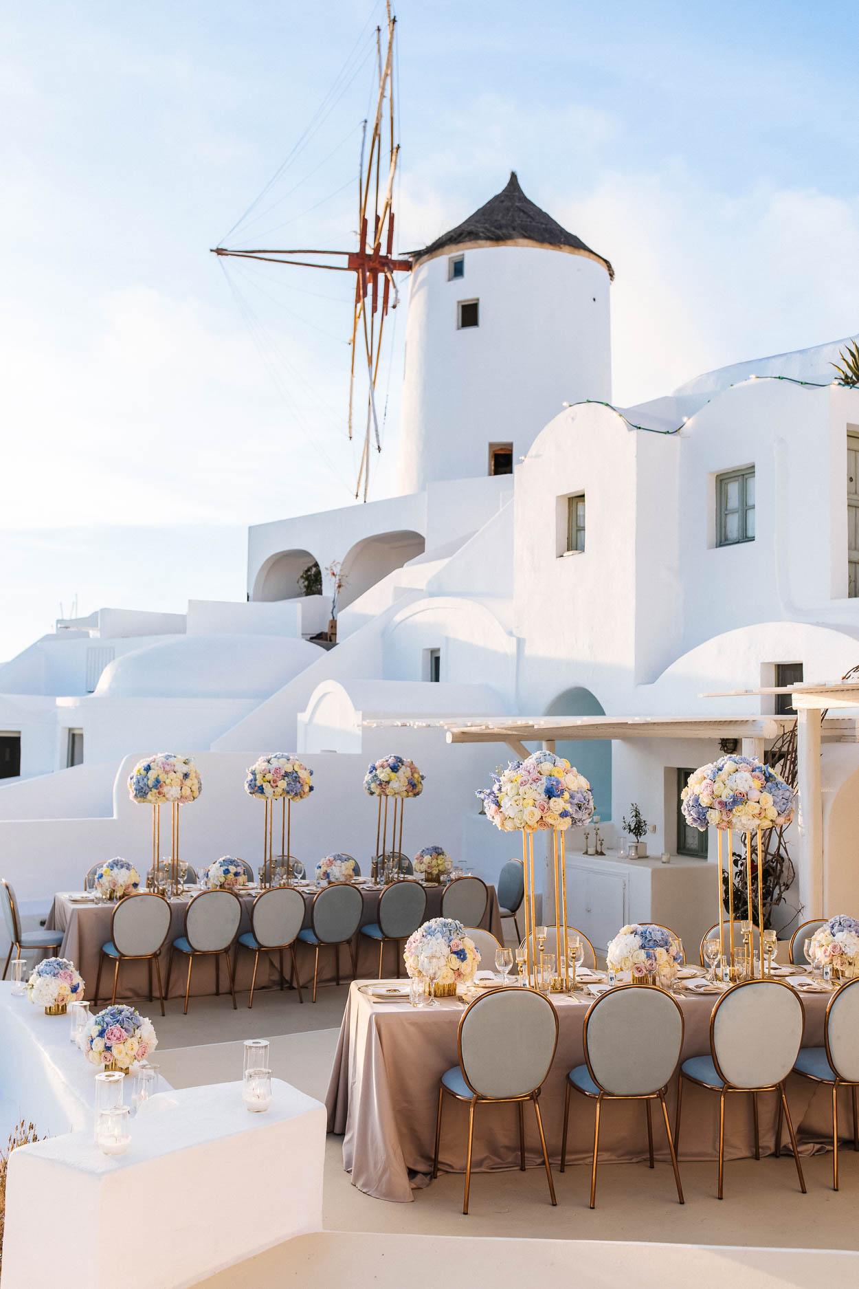 fanari villas santorini wedding venues