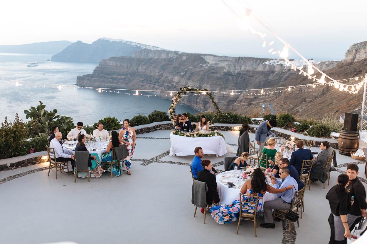 venetsanos winery santorini wedding venues
